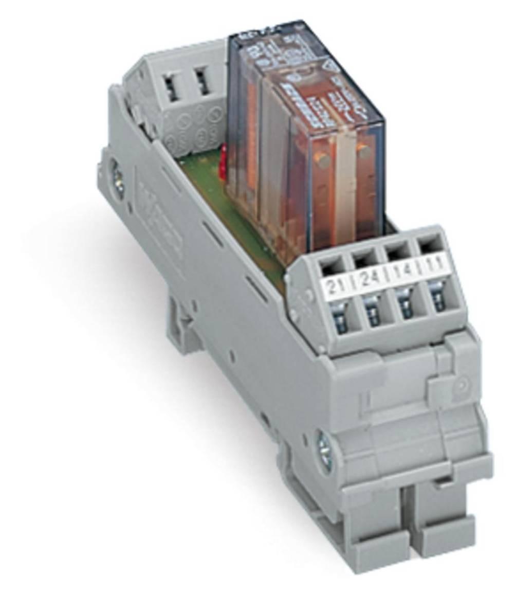 Relæprintplade bestykket 1 stk WAGO 288-512 2 x omskifter 24 V/DC, 24 V/AC