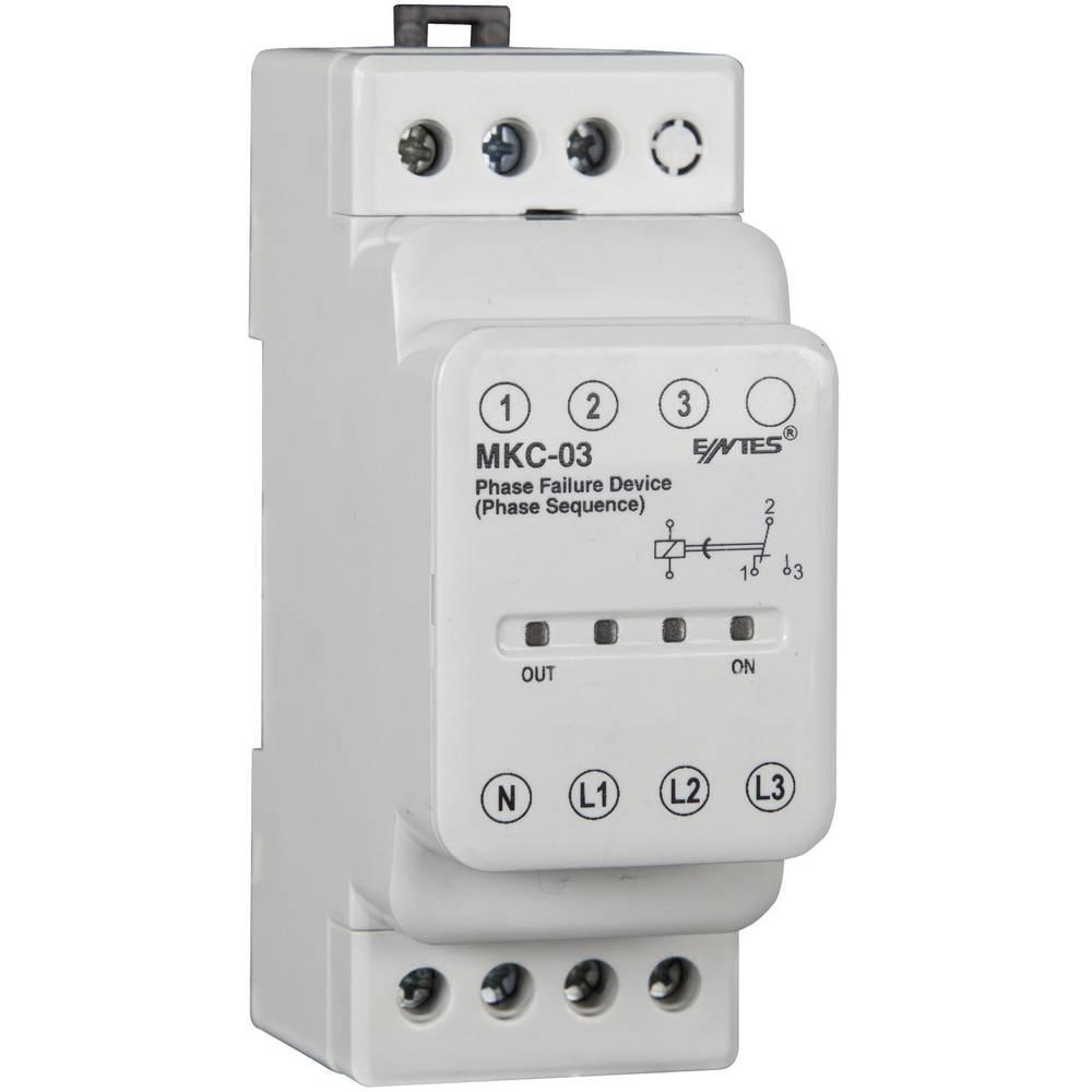 ENTES® MKC-03-Rele nadzora faznega izpada