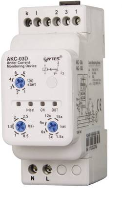 ENTES® AKC-03D current monitoring relay AKC-03D