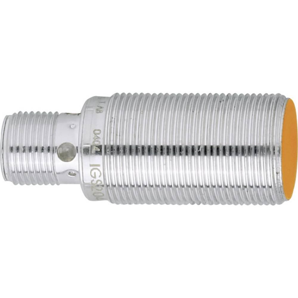 Inductive proximity sensor M18 shielded PNP ifm Electronic IGS204 ...