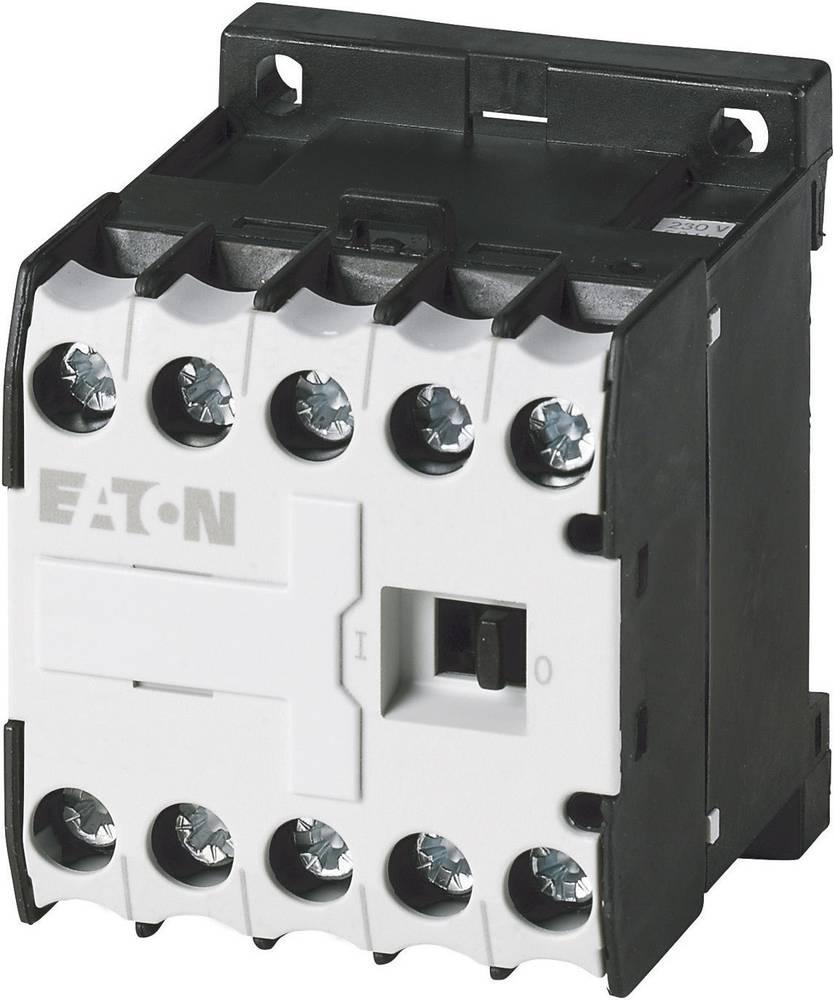 Kontaktor 1 stk DILEM-01-G(24VDC) Eaton 3 x afbryder 4 kW 24 V/DC 9 A med hjælpekontakt