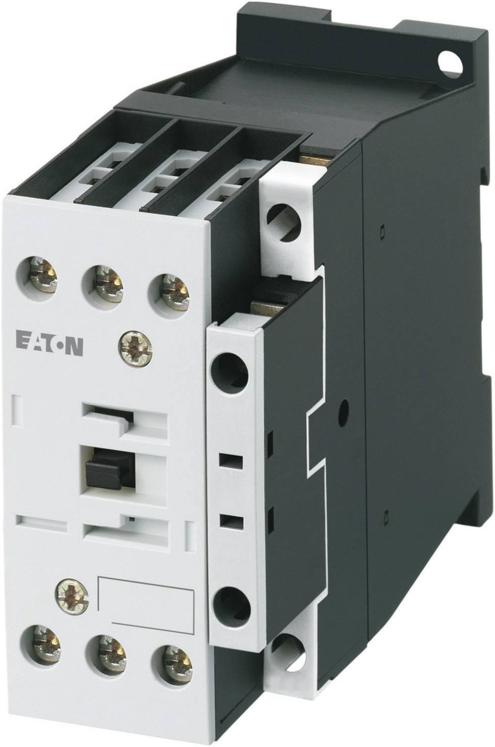 Kontaktor 1 stk DILM17-01(230V50HZ,240V60HZ) Eaton 3 x afbryder 7.5 kW 230 V/AC 18 A med hjælpekontakt