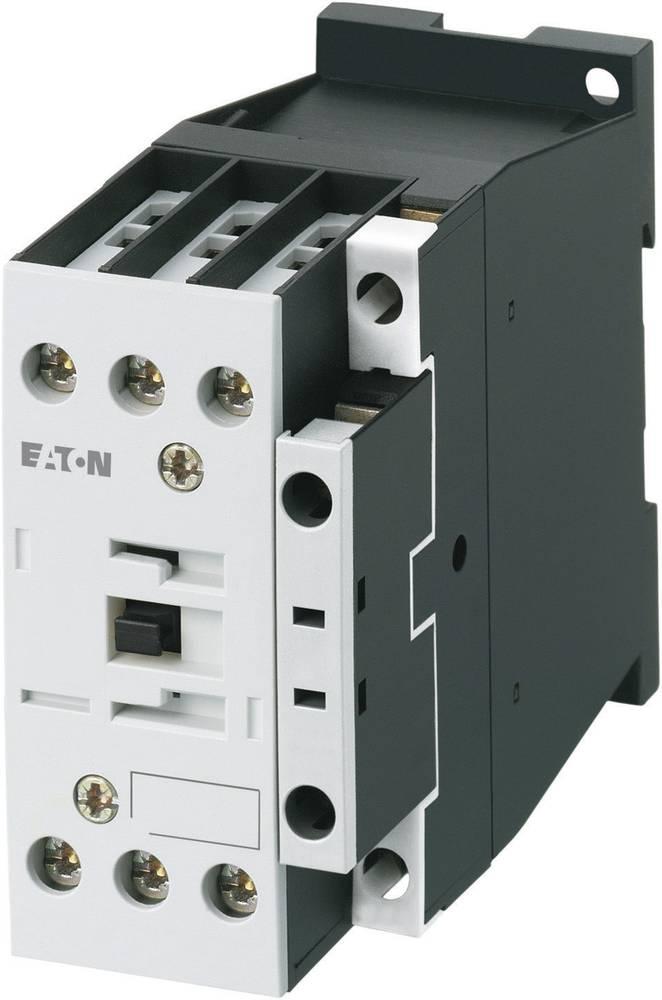 Kontaktor 1 stk DILM32-10(RDC24) Eaton 3 x afbryder 15 kW 24 V/DC 32 A med hjælpekontakt