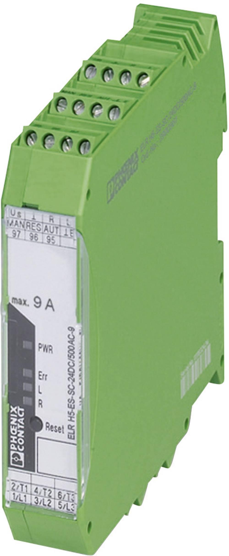 Zaščita motorja 1 kos ELR H5-ES-SC- 24DC/500AC-2 Phoenix Contact bremenski tok: 2.4 A preklopna napetost (maks.): 550 V/AC