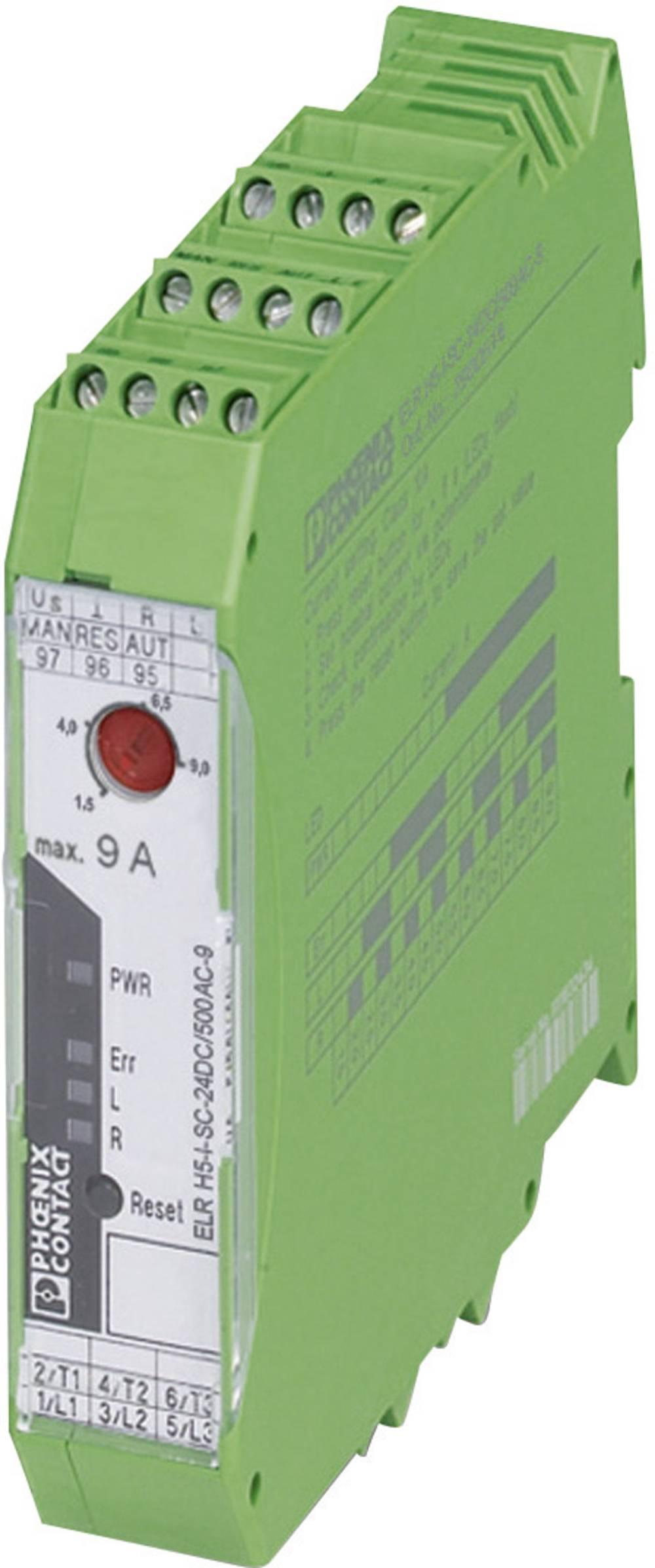 Motorbeskyttelse 1 stk ELR H5-I-SC-230AC/500AC-2 Phoenix Contact 230 V/AC 2.4 A