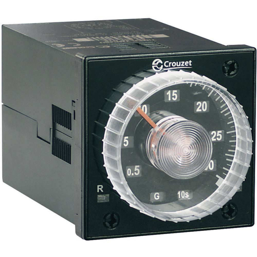 Crouzet-Vgradni analogni časovni rele TIMER TMR 48U, 12-240 V/DC/ 24-240 V/AC, 5 A 88886016