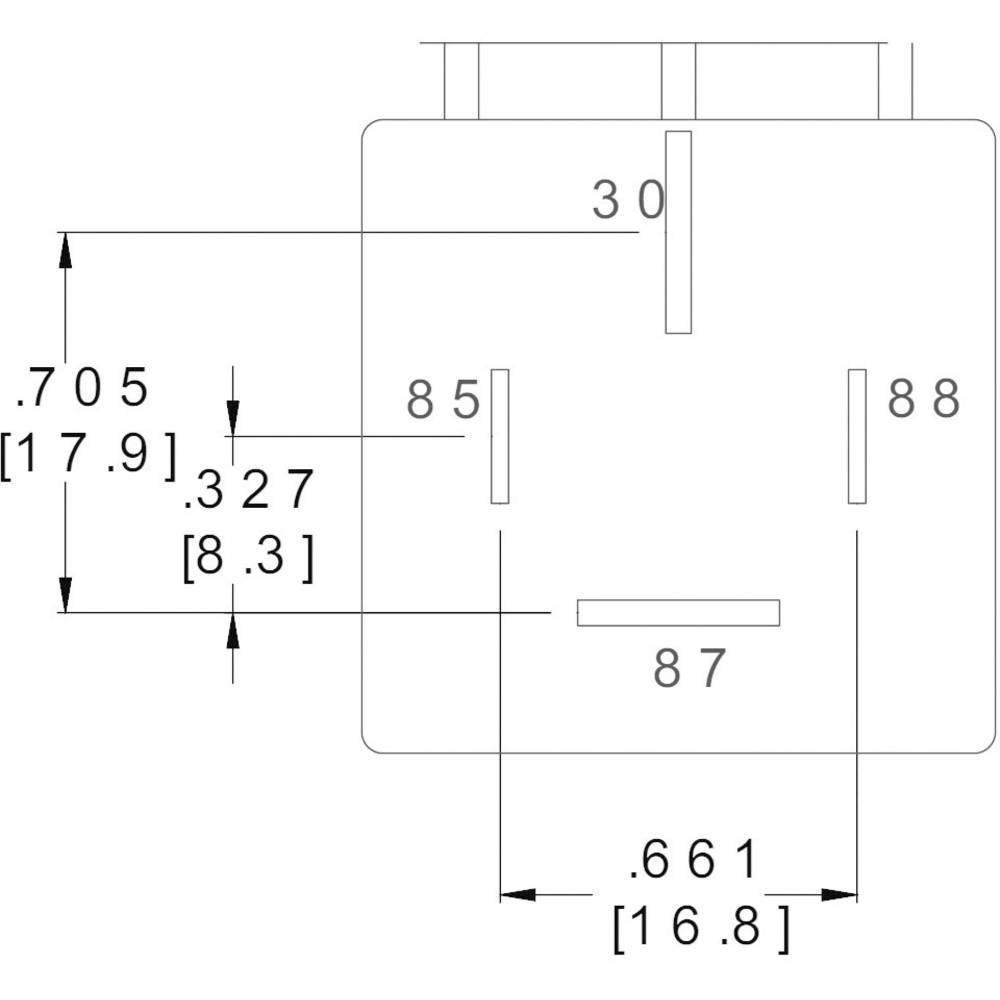 Zettler Electronics Az979 1a 12d Automotive Relay 12 Vdc 80 A 1 Switch Lifespan Maker