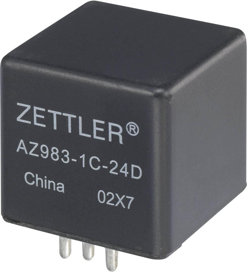 Avtomobilski rele MINI-ISO Zettler Electronics AZ983-1C-24D 24 V/DC 1 menjalni 60 A maks. 75 V/DC 840 W