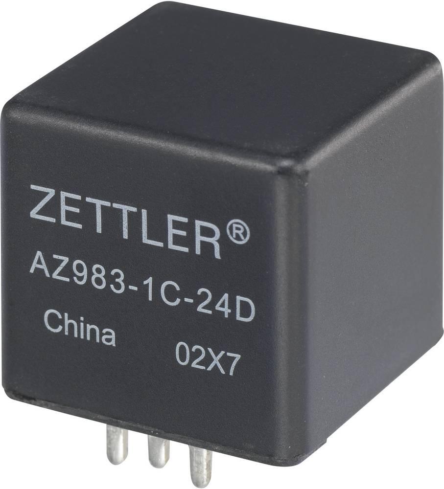 Køretøjsrelæ 24 V/DC 80 A 1 x sluttekontakt Zettler Electronics AZ983-1A-24D