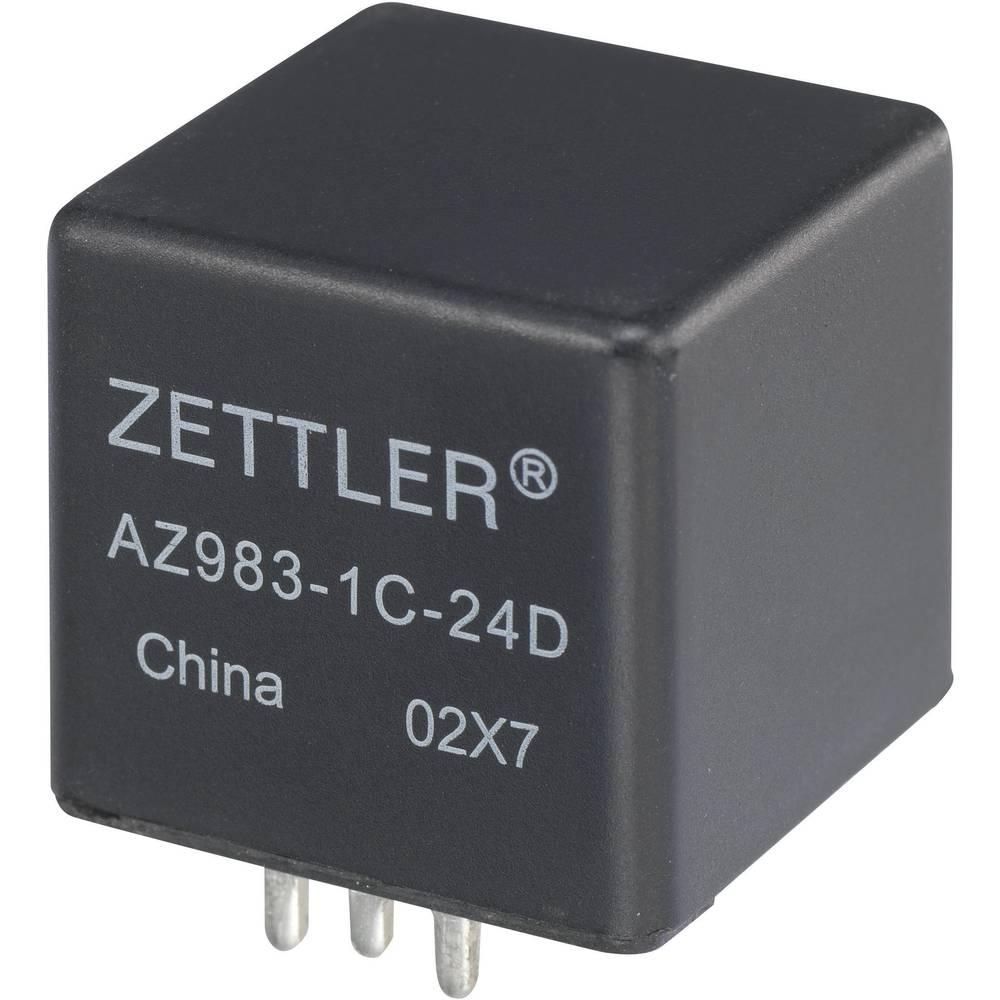 Køretøjsrelæ 12 V/DC 80 A 1 x sluttekontakt Zettler Electronics AZ983-1A-12D