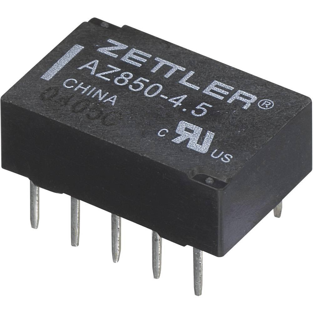 Polarizirani Miniaturni-rele Zettler Electronics AZ850P2-24 24 V/DC 2 preklopnik maks. 1 A 30 V/DC/125 V/AC 30 V/DC/1 A, 1