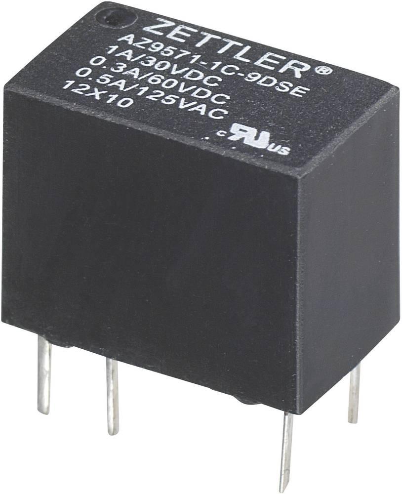 Subminiaturni Print-rele Zettler Electronics AZ9571-1C-3DSE 3 V/DC 1 preklopnik maks. 1 A maks. 60 V/DC/125 V/AC 30 V/DC/1 A
