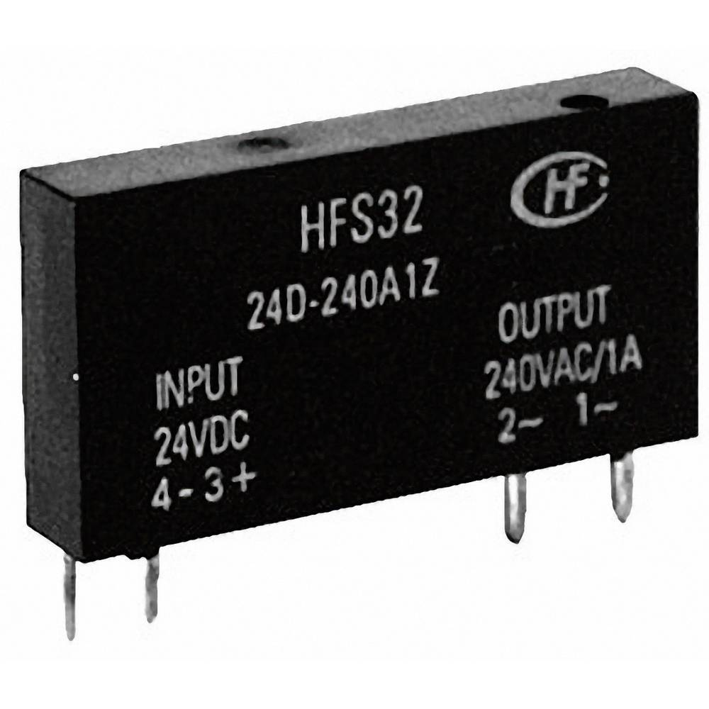 Hongfa Hfs32 60d 240a2z Sip Overload Solid State Relay From 240v Ac