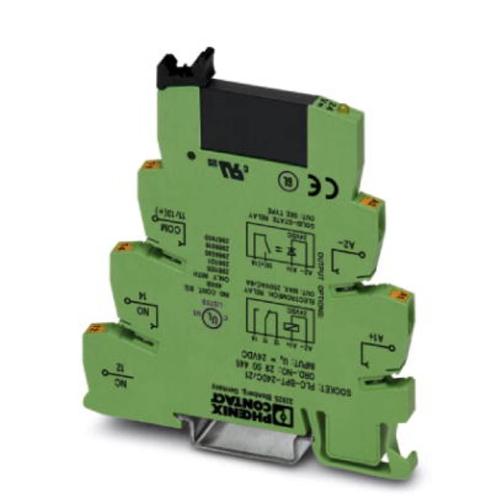 Halvlederrelæ 10 stk Phoenix Contact PLC-OPT-230UC/ 24DC/2 Last-Strøm (maks.): 3 A Koblingsspænding (max.): 33 V/DC