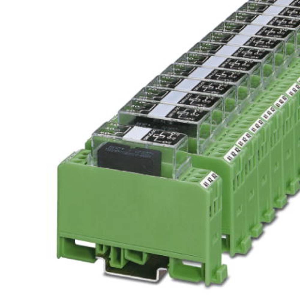 Relækomponent 10 stk Phoenix Contact EMG 17-REL/KSR- 24/21AU BK 1 x skiftekontakt