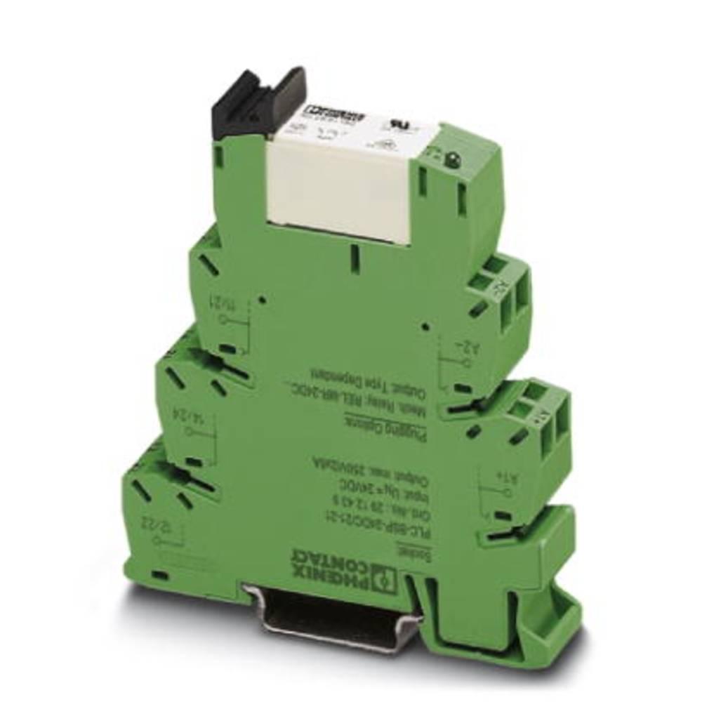 Interfacerelæ 10 stk 12 V/DC 6 A 2 x omskifter Phoenix Contact PLC-RSP- 12DC/21-21
