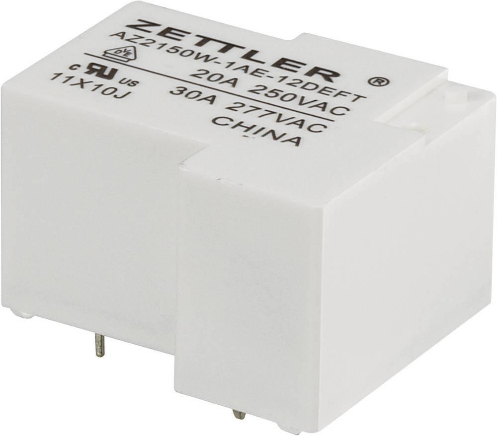 Močnostni rele Zettler Electronics AZ2150W-1AE-12DEFT, 12 V/DC, 1 x delovni k., maks. 30 A