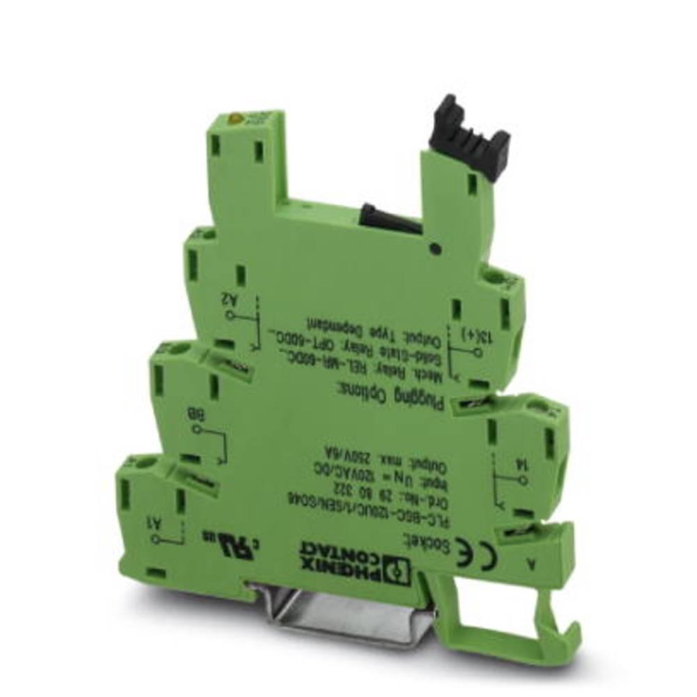 Relejsko podnožje 10 kosov Phoenix Contact PLC-BSC- 5DC/ 1/SEN