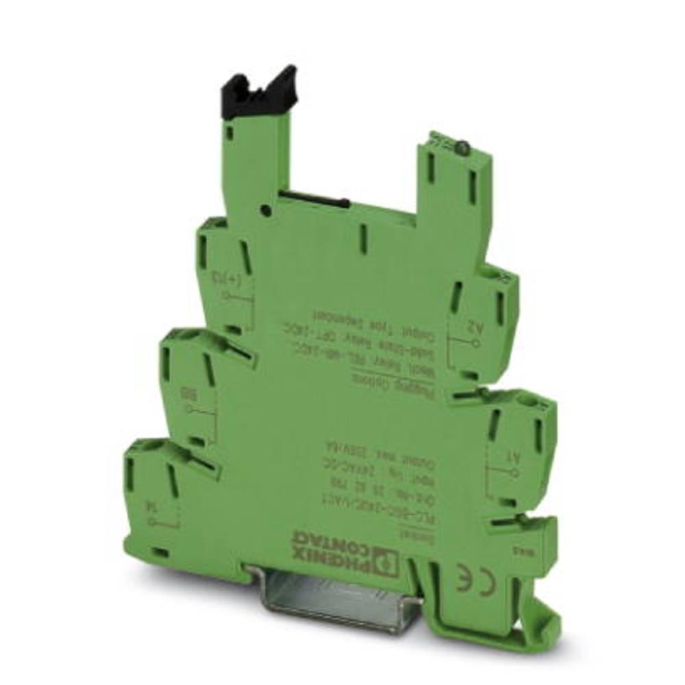 Relejsko podnožje 10 kosov Phoenix Contact PLC-BSC- 24UC/ 1/ACT Phoenix Contact REL-MR-24DC/21, Phoenix Contact REL-MR-24DC/21AU