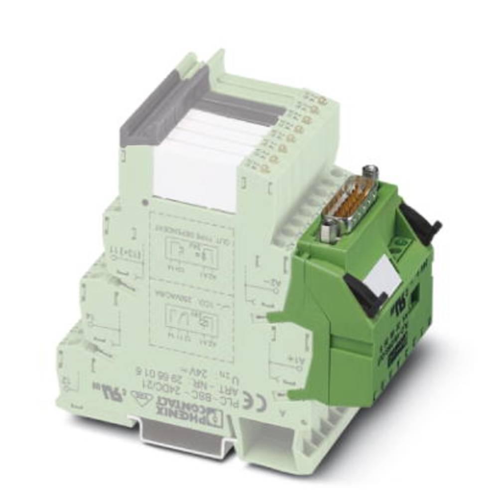 Adapter Grøn 1 stk Phoenix Contact PLC-V8/D15B/IN