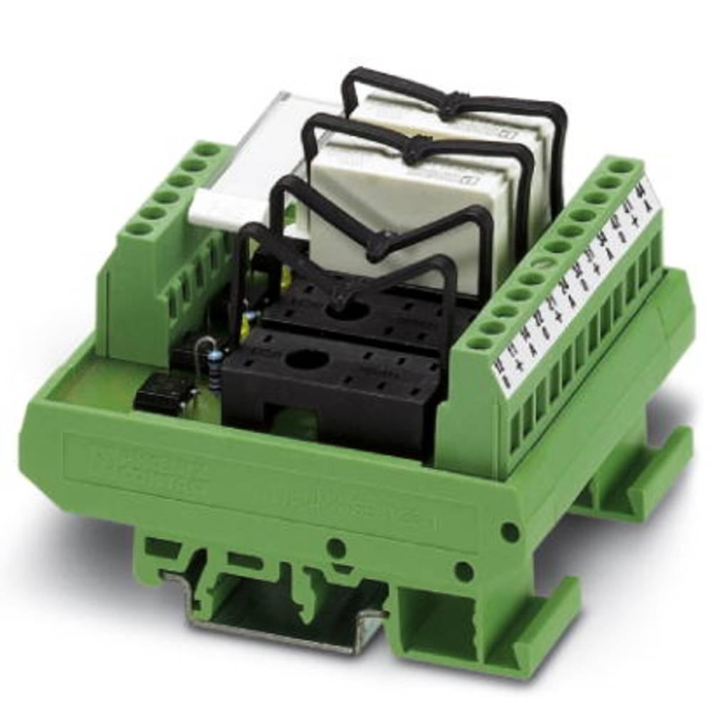 Relæprintplade uden udstyr 1 stk Phoenix Contact UMK- 4 RM 24 1 x skiftekontakt 24 V/DC, 24 V/AC