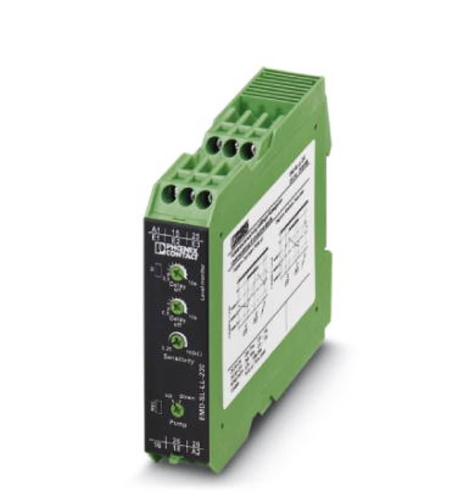Overvågningsrelæer 230 V/AC 2 x omskifter 1 stk Phoenix Contact EMD-SL-LL-230 Niveau overvågning (ledende væske)