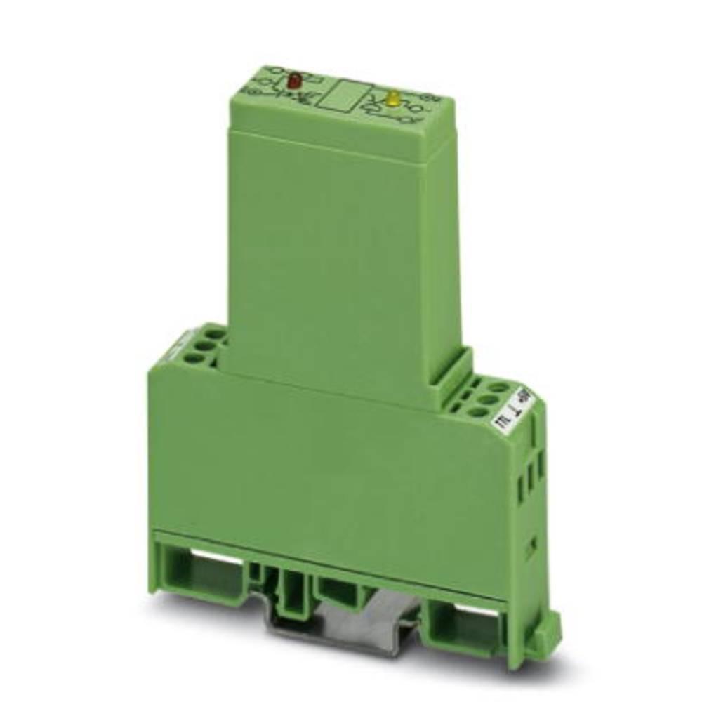 Halvlederrelæ 10 stk Phoenix Contact EMG 17-OV-TTL/ 24DC/2 Last-Strøm (maks.): 2 A Koblingsspænding (max.): 30 V/DC