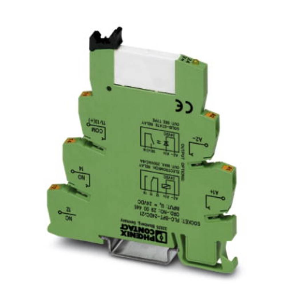 Interfacerelæ 10 stk 12 V/DC 50 mA 1 x skiftekontakt Phoenix Contact PLC-RPT- 12DC/21AU