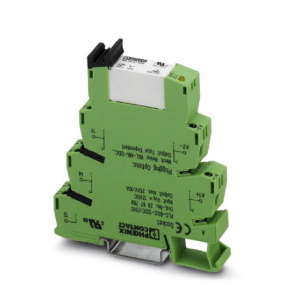 Vmesniški rele 10 kosov 220 V/DC, 230 V/AC 10 A 1 izmenjevalnik Phoenix Contact PLC-RSC-230UC/21HC