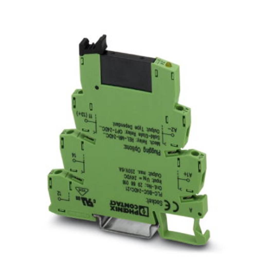Halvlederrelæ 10 stk Phoenix Contact PLC-OSC-120UC/ 24DC/ 2 Last-Strøm (maks.): 3 A Koblingsspænding (max.): 33 V/DC