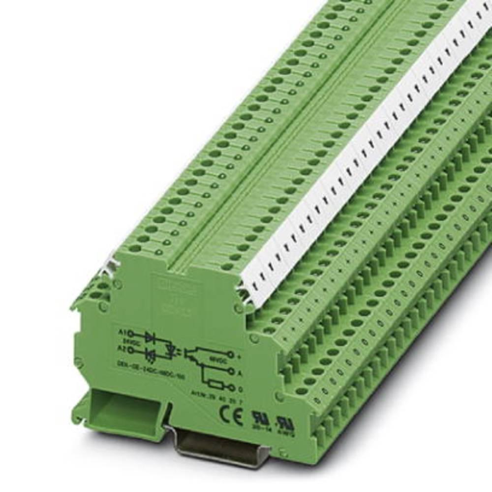 Halvlederrelæ 10 stk Phoenix Contact DEK-OE- 60DC/ 48DC/100 Last-Strøm (maks.): 100 mA Koblingsspænding (max.): 48 V/DC