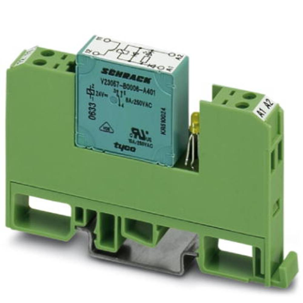 Relækomponent 10 stk Phoenix Contact EMG 10-REL/KSR-120/ 1-LC Nominel spænding: 120 V/DC, 120 V/AC Brydestrøm (max.): 6 A 1 x sl