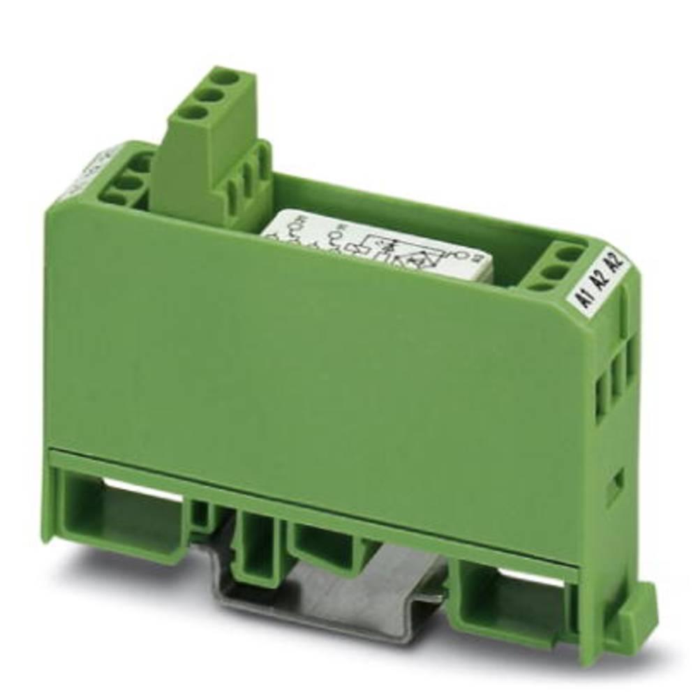Relækomponent 10 stk Phoenix Contact EMG 17-REL/KSR- 24/21-21-LC AU Nominel spænding: 24 V/DC, 24 V/AC Brydestrøm (max.): 5 A 2