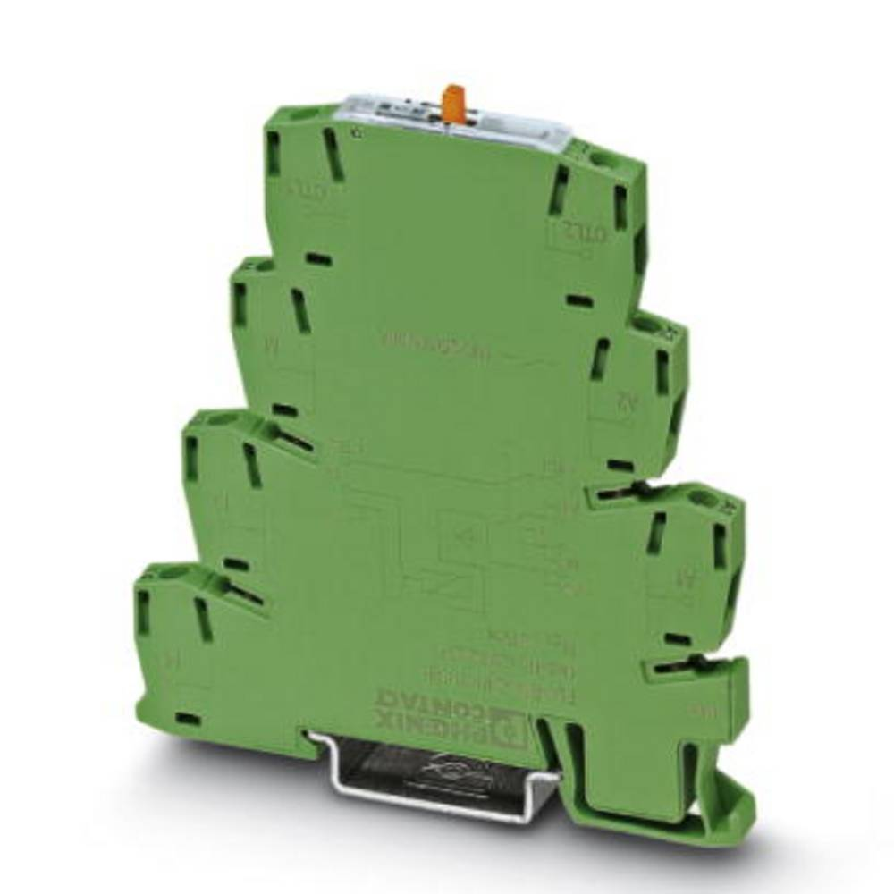 Interfacerelæ 10 stk 24 V/DC, 24 V/AC 6 A 1 x sluttekontakt Phoenix Contact PLC-RSC- 24UC/ 1/S/H