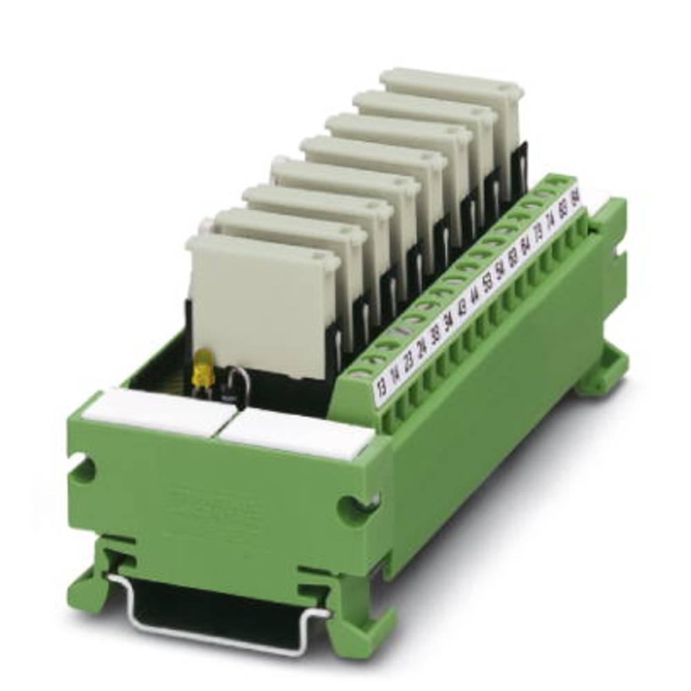 Relejsko tiskano vezje, opremljeno 1 kos Phoenix Contact UM 45- 8RM/MR-G24/1/PLC 1 zapiralni 24 V/DC