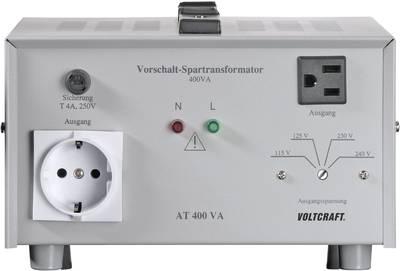VOLTCRAFT AT-400 NV 400 W 240 V AC Manufacturer's standards (no certificate)