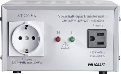 VOLTCRAFT AT-200 NV 200 W 230 V AC Manufacturer's standards (no certificate)