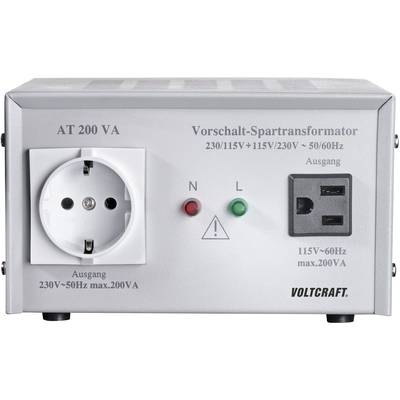 VOLTCRAFT AT-200 NV 200 W 230 V AC Manufacturer's standards (no certificate)