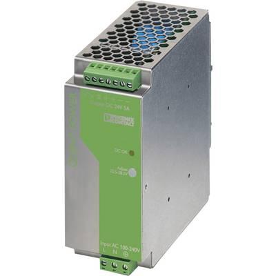 Phoenix Contact QUINT-PS-100-240AC/24DC/5 Rail mounted PSU (DIN) 24 V DC 5 A 120 W 1 x