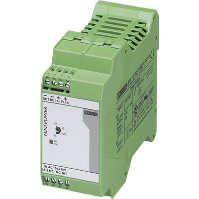 Phoenix Contact MINI-PS-100-240AC/10-15DC/2 Rail mounted PSU (DIN) 2 A 30 W 1 x