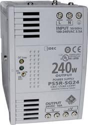 Strømforsyning til DIN-skinne (DIN-rail) Idec PS5R-SG24 26.4 V/DC 10 A 240 W 1 x