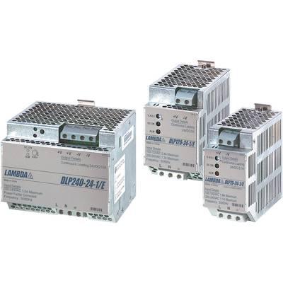 TDK-Lambda DLP-180-24-1/E Rail mounted PSU (DIN) 24 V DC 7.5 A 180 W 1 x