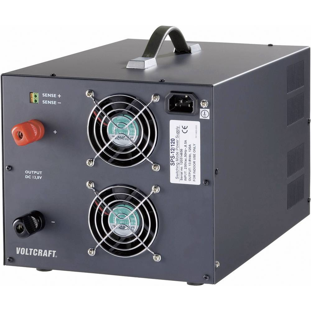 Bench PSU (fixed voltage) VOLTCRAFT SPS 12/120 12.6 - 14.8 Vdc 120 A ...