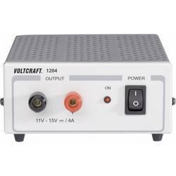 Laboratoriestrømforsyning, fast spænding VOLTCRAFT FSP 1204 11 - 15 V/DC 4 A 60 W Antal udgange 1 x