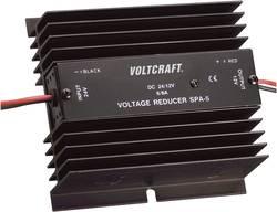 VOLTCRAFT SPA-5 Jævnstrømsomformer, DC-DC-omformer Lineær 24 V / 12 V / 6 A /