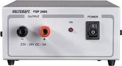 Laboratoriestrømforsyning, fast spænding VOLTCRAFT FSP 2405 24 - 29 V/DC 5 A 145 W Antal udgange 1 x