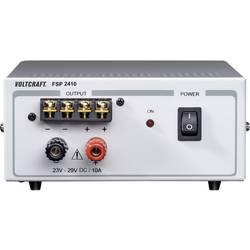 Laboratoriestrømforsyning, fast spænding VOLTCRAFT FSP 2410 24 - 29 V/DC 10 A 240 W Antal udgange 1 x