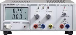 Laboratoriestrømforsyning, indstillelig VOLTCRAFT VLP 1602pro 0 - 60 V/DC 0 - 1.5 A 102 W Antal udgange 2 x