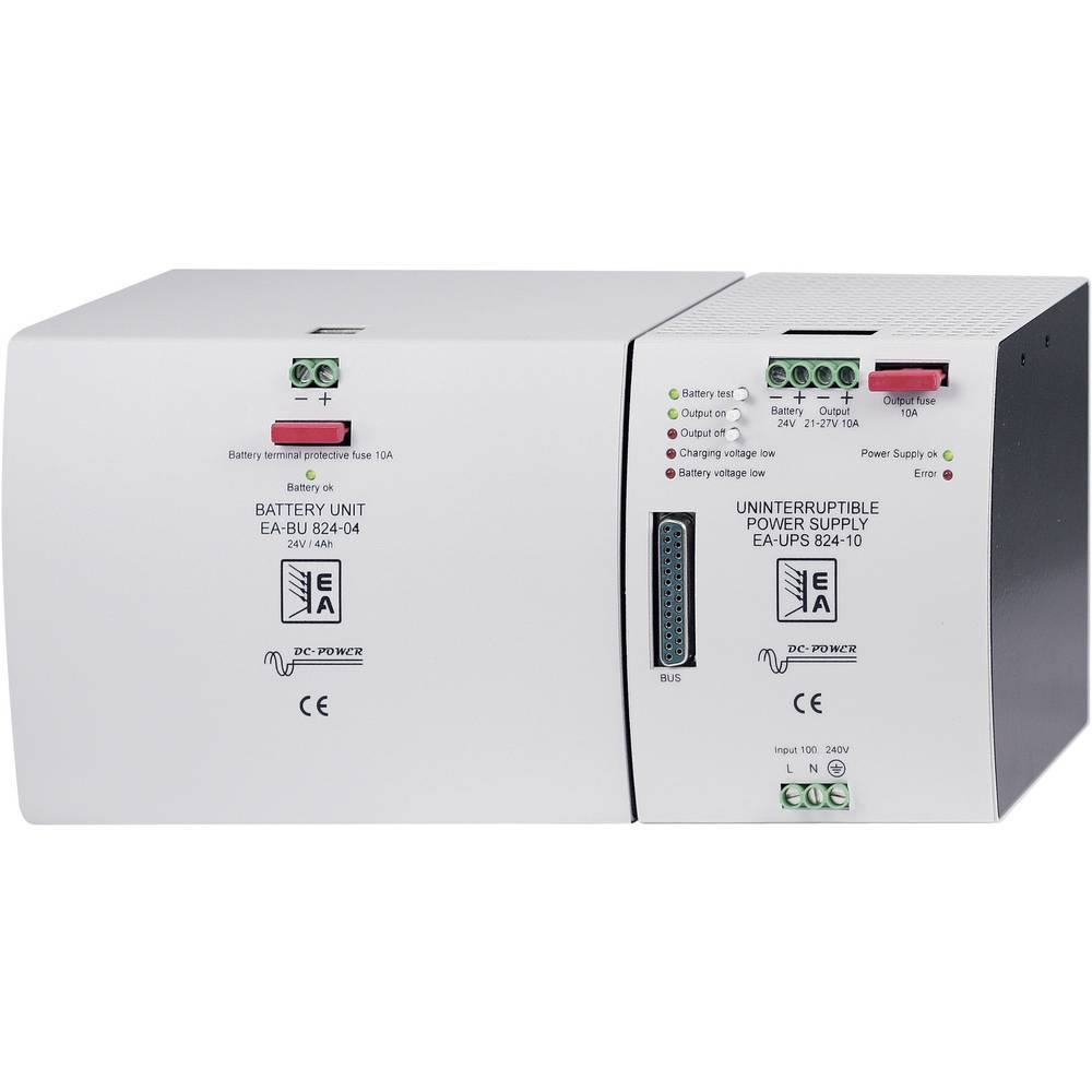 Ea Elektro Automatik 36940103 Ups 812 10 Sm Din Rail 12 Vdc Basic Uninterruptible Power Supply Circuit A