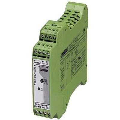 Phoenix Contact MINI-PS-100-240AC/24DC/1.3 Rail mounted PSU (DIN) 24 V DC 1.3 A 31.2 W 1 x